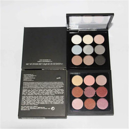 Wholesale top naked - Top Quality M Eyeshadow Palette Eye Shadow x9 Fard Pard A Paupieres Nude naked palette palettes DHL ship