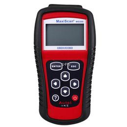 herramientas de escaneo de lectores de código audi Rebajas Venta al por mayor Autel MaxiScan MS509 OBD Scan Tool OBD2 Scanner Lector de código Auto Scanner