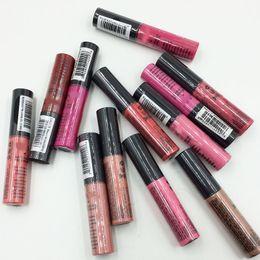 Wholesale Vintage Lips - 2017 hot NYX Soft Matte Lip Cream LipGloss Lipstick Vintage Long Lasting NYX Lip Gloss 10g 12 colors good quality