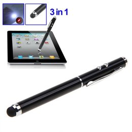 Wholesale Touch Screens For Computers - 3-in-1 Magic Touch Pen for iPad Mini iPad 3 iPhone 8   7   6s iPod Touch and All Mobile Phone Computer with Capacitive Screen