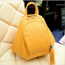 Wholesale Ladies Leather Hobo Handbags - New Arrival Fancy Fashion Tide Style Solid Color PU Leather Shoulder Crossbody Backpack Handbag Multifunction Bag Girl Lady Women Bag