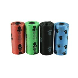 Wholesale Plastic Poop - Degradable Pet Dog Waste Poop Bag With Printing Doggy Bag free shipping
