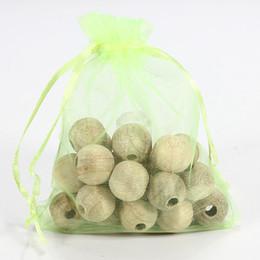 Wholesale Cedar Balls - 24 beads one Bag Cedar Wood Moth Balls Repellent Natural Wardrobe Clothes Drawer
