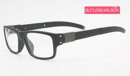 2019 brillengestell rosa Männer Modedesigner Sonnenbrille Frames Top-Verkäufer optische Rahmen schwarze Brillen Rahmen Muff 22-202 im Fall