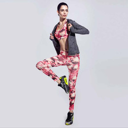 Wholesale Exercise Clothing For Women - Wholesale-2016 Women yoga Pants Sportswear Sport Fitness Running Tights Quick Drying Compression trousers Exercise Clothing For Women