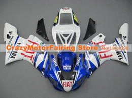 Wholesale 98 R1 Blue Fairings - 3Gifts New Hot sales bike Fairings Kits For YAMAHA YZF-R1 1998 1999 r1 98 99 YZF1000 Cool blue red FIAT
