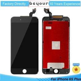 Wholesale Full Color Display - LCD Replacement for iPhone 6S Plus Digitizer With Full Assembly Display With Touch Screen Digitizer Black and White Color AAA Grade