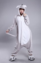 Wholesale Rabbit Onesie Adult - Latest Cool Zodiac Adults Rabbit Mouse Onesie Anime Cosplay Costumes Unisex Women Men Pajamas bhm,