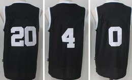 Wholesale Xxl Name Brand Shirts - 2017-2018 Season New brand Men's basketball jerseys 20 Gordon Hayward 0 Jayson Tatum 20 Gordon Haywad shirts Embroidered player name logo