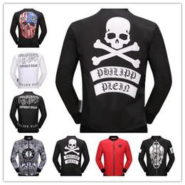 Wholesale Horse Coat Color - New 2017 Mens coat Fashion Skull Horse Printed Fitness Men Hooded jacket Camisetas Swag Medusa man's Skull jacket Casual Coat size M-3XL