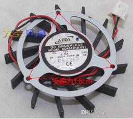 Wholesale Hard Drive Fans - GIGABYTE AD4512HB-E01 12V 0.28A 2 line graphics card fan