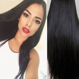 Wholesale Cheap Wholesale Black Hair Products - 7A Brazilian Virgin Hair Straight 3 Bundles Lot Rosa Queen Hair Products Top Brazilian Hair Weave Bundles Cheap Human Hair Soft And Silky
