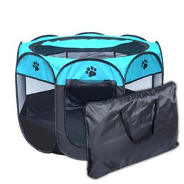 Wholesale tents for dogs - Dog House Portable Folding large Dog House tent for indoor,outdoor waterproof