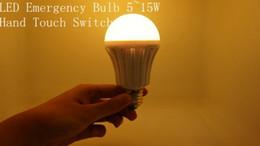Wholesale Emergency Led E27 - E27 Rechargeable Emergency intelligent LED Light Bulb Lamp 5W 7W 9W 12W 15W,2 years warranty