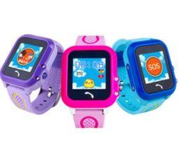Wholesale Anti Clock - Waterproof GPS smart watch DF27 kids Watch clock SOS Call Location Device Tracker Kids Safe Anti-Lost Monitor