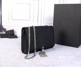 Wholesale Clutch Festa - 2016 bolsa de festa designer clutch famous brand women clutch tassel bag genuine leather shoulder bags handbags women famous brands