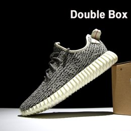 Wholesale Indoor Tennis - Double Box Lace-Up Sneakers 350 Boost Kanye West Running Shoes Features Suitable for Party,Sports,Indoor,Outdoor any Occasion, Casual