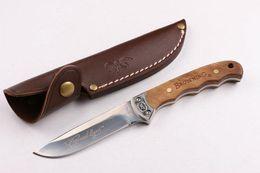 Bräunungsmesser holzgriff online-Hochwertige Browning BLN001 holzgriff kleine jagdmesser outdoor jagd camping messer werkzeug messer kostenloser versand