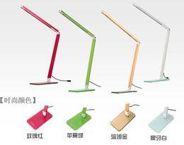 Wholesale Glass Wedges - 7W Flexible 48 LEDS SMD 2835 Desk lamp Energy Saving Adjustable Table Lamps Reading Light