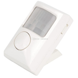 Wholesale Wholesale Security Doors For Home - Small Electronic Dog Alarm Mini Wireless IR Motion Sensor For Home Security E00200 SMAD