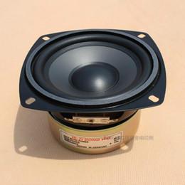 Wholesale Unit Boxes - Wholesale- 4Inch Woofer Audio Speakers 8Ohm 30W Fever Hifi Speaker Sound Bass Unit Leather Speaker