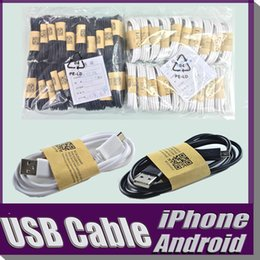 Wholesale Price Iphone Adapter - Lowest Price For i 6S 6 5 Samsung S7 Edge S6 S5 Note 5 4 Micro USB Cable 1m 3.0 Sync Data Charger adapter Wire DHL MOQ:100pcs