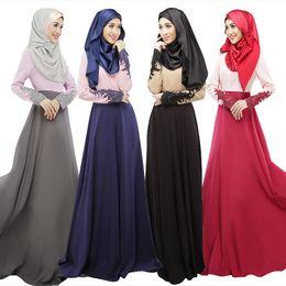 Wholesale Islamic Jilbabs - Women abaya turkish clothing muslim dress islamic jilbabs and abayas musulmane vestidos longos turkey hijab clothes dubai kaftan longo giyim