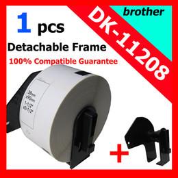 Wholesale Dk Rolls - Wholesale-20x Rolls Brother Compatible Labels dK-11208,38x 90mm,400 labels per roll,Thermal paper Sticker,dk 11208 ,dk 1208,address label