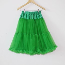 Wholesale Lady Chiffon Dress High Waist - Soft Women Ladies Tutu Quinceanera Dresses Ball Gown Skirt Adult Chiffon Cake Dress Party Evening High Waist long Pettiskirt Free Size