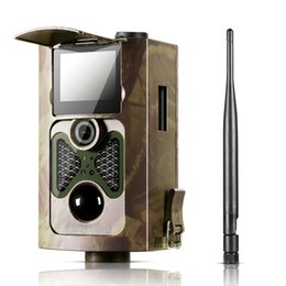 Wholesale Gprs Mms - [2017 New] HC550G Hunting Trail Camera 3G HD 16MP 1080P Video Night Vision MMS GPRS Scouting Infrared Game HC-550G Hunter Cam