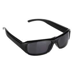 Wholesale Dv Dvr Spy Sun Glasses - 32GB 1080P 5MP HD Digital Video Spy Sun Glasses Camera Hidden Eyewear DVR Camcorder DV Cam Recorder For Outdoor Sports