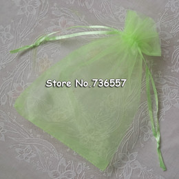 Wholesale Candy Wrapping Supplies - Wholesale- Hot Selling 500pcs lot 10*15cm Package Mix Colors Wedding Candy Organza Bag Wrapping Office Supplies Chiffon Envelope