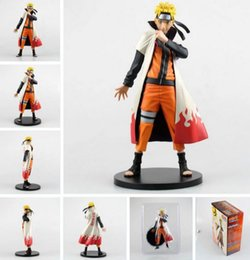 Wholesale naruto figure new - Anime Naruto Uzumaki Naruto PVC Action Figure Collection Model Toy 1 6 Scale figure doll children gift ACGN Brinquedos 25cm New