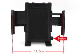 Wholesale Abs Gps - Electric vehicle Motorcycle Mirror Bolt Holder for cell Phone GPS ABS metal Case Car support Mount