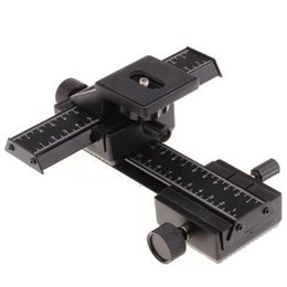 """Wholesale Shoot Cameras - 4 Way Macro Focusing Focus Rail Slider  Close-up Shooting for Camera and DC with Standard 1 4"""" Screw Hole"""