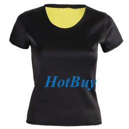 Wholesale Control Exercise - S-3XL Women Slim Shapewear Body Shaper Vest Slimming Training Corsets Gym Exercise Yoga T-shirt #3964