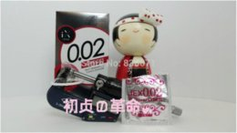 Wholesale Condom Sex Japan - Sex produces,sexy,Transparent series,JEX 002 condom,L size,made in Japan,1 box, 6 pieces 0.02mm ,sexy toys for man,sexy shop