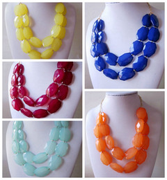 Wholesale Charming Red Coral Necklace - Free Shipping Two Layered Statement Fashion Pendant Hot Wholesale Factory Prices High Quality Necklace Pretty Hot Selling Jewelry