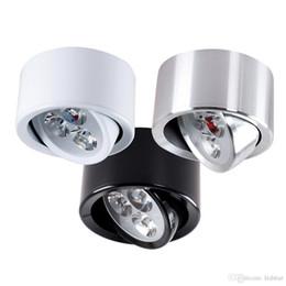 luci di soffitto a soffitto alto Sconti Faretto orientabile da incasso a LED 9W dimmerabile LED ad alta potenza Faretto a soffitto a LED per cucina da bagno AC 85-265V