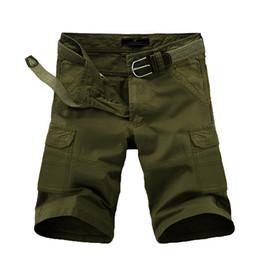 Wholesale Capri Beach Pants - Hot Selling 2016 28-38 large Plus Camo Army Cropped pants Loose Camouflage Beach Board Capri Cotton Knee Length Calf-Length Trousers Sport