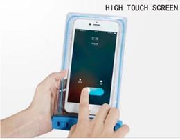 iphone hüllen für strand Rabatt Universal wasserdichte Strandtasche Fall für iPhone 6 7 leuchtende transparente Trockenbeutel für Samsung LG G5 HTC unter 6 Zoll Telefon