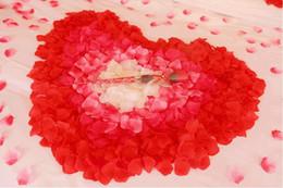 Wholesale Colorful Home Decor Wholesale - Artificial Rose Petals 40 colors 1 lot=100 set=10000pcs colorful wedding petals Fake Artificial Flower Home And Wedding Decor free shipping