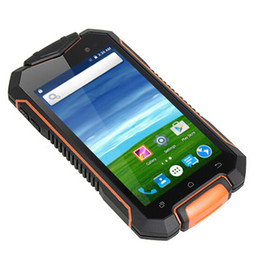 Wholesale Dual Sim Android Ip67 - 4.5 Inch IP67 Waterproof Rugged Phone XP7700 MT6580 Quad Core 3G WCDMA Android 5.1 Smartphone 8GB ROM Dual SIM Card F6 H6 F605