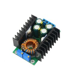 Wholesale Power Led Driver Ic - Wholesale-Free Shipping CC CV Adjustable Power Module DC-DC 12A Step-down 24V To 12V Led Display Driver Buck Converter Module Hot Selling