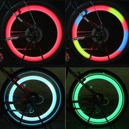 Wholesale Flasher Light Bulbs - Wholesale- 4 Colors Bicycle Wheel LED Spoke Light Bulb Flasher Spoke Lights (Red+Blue+Green+Multicolor)