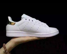 Wholesale Men S Sneakers Running Shoes - Top quality women's men STAN SMITH SNEAKERS CASUAL LEATHER MEN'S AND WOMEN 'S SPORTS RUNNING JOGGING SHOES MEN FASHION CLASSIC FLATS SHOES