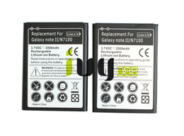 Wholesale Note Ii Battery - 2pcs lot 3500mAh EB595675LU Replacement Battery For Samsung Galaxy Note II 2 N7100 N7000 N7102 t-mobile T889 Sprint L900 Verizon i605