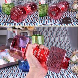 2020 bouteilles en forme de fruits NOUVEAU 550 ml haltère tasse équipement de remise en forme forme bouilloire espace tasse tasse de jus de fruits bouteille de sport bouteille d'eau 74 pcs IB246 promotion bouteilles en forme de fruits