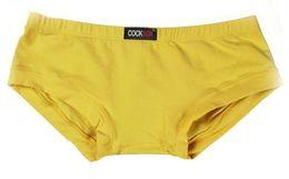 Wholesale Hot Mens Briefs - COCKSOX Hot Sexy Men Cotton Low Waist Mens Boxers Sexy New Style Men Underwear Cueca Gay Underpants Boxer shorts Briefs
