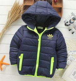 Wholesale Girls Coats Retail - Retail 2017 New winter girls jacket, snow treasure cartoon coat cotton-padded clothes cotton-padded clothes, children's coat Kid